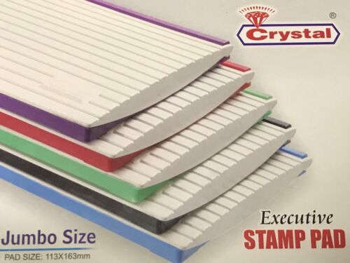 Jumbo Large Ink Stamp Pad For Classic Range - Pad Size 163 X 113 mm -All Colours