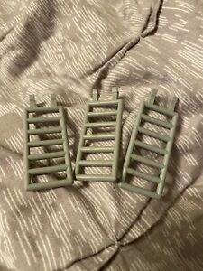 Bar 7 x 3 w Double Clips 2 6020 LT BLUISH GRAY Ladder 6020 LEGO Parts~