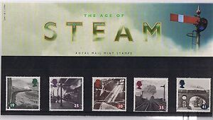 GB-Presentation-Pack-244-1994-The-Age-of-Steam-10-OFF-5-BIN-039-s
