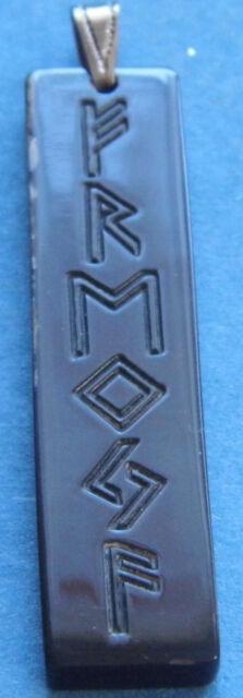 Amulett Wasserbüffelhorn Runenamulett Freyja