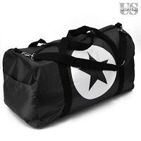 22 Black Nylon Foldable Tote Travel Bag Duffle Carry-on Gym Luggage Overnight