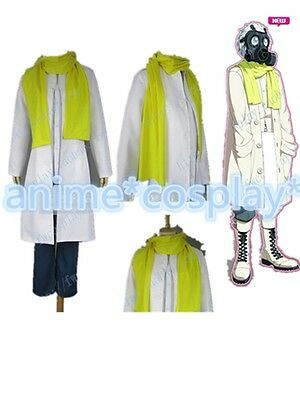 Dramatical Murder Clear DMMD White Cosplay party Costume unisex Any Size