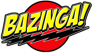 bazinga 2 logo t shirt boys girls kids age 3 13 ideal gift present rh ebay co uk bazinga logo bazinga logo vector