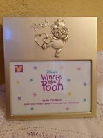 Disney Winnie The Pooh Photo Frame 4x6 Embossed Character Picture Holder