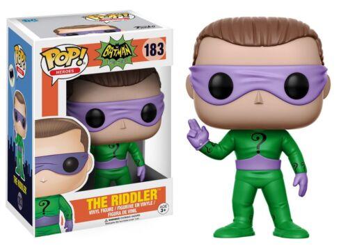 FUNKO Pop Heroes DC Héros Riddler 13628 vinyl doll figure toy Batman en Stock