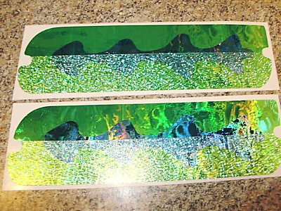 """8/"""" Spin Doctor STUD Front Fishing Lure Tape Die Cut 2 Pack Lake Ontario Special"""