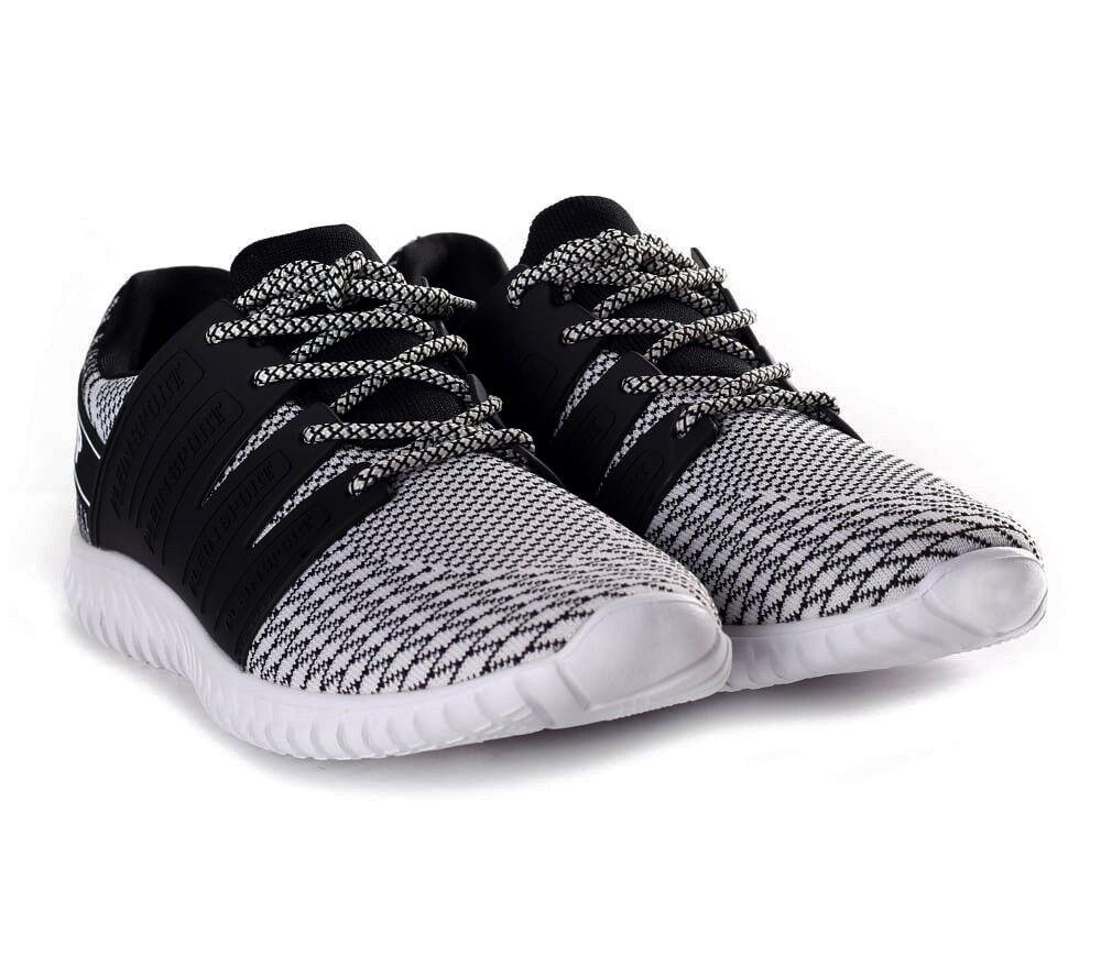 PHILIPP PLEIN White Runner Mason Sneakers Trainers shoes Boots UK7.5 EU41 US8