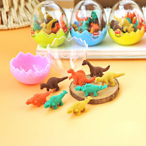 Novelty-Dinosaur-Egg-Pencil-Rubber-Eraser-Students-Office-Stationery-Kid-Toy