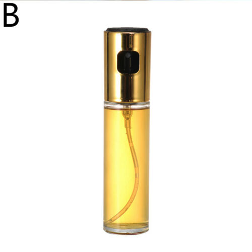 1PC Kitchen Olive Oil Spray Glass Empty Bottle Baking Oil Sprayer Vinegar Cruet