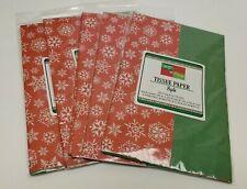 """18gsm  20/"""" x 28/"""" Christmas Snowflake Acid Free Tissue Paper Sheets 50cm x 70cm"""