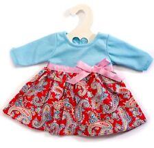 Heless Puppenkleidung, Romantik Kleid Happy, für 35 cm bis 45 cm große Puppen