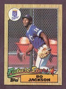 1987 Topps Baseball Bo Jackson #170 RC Rookie