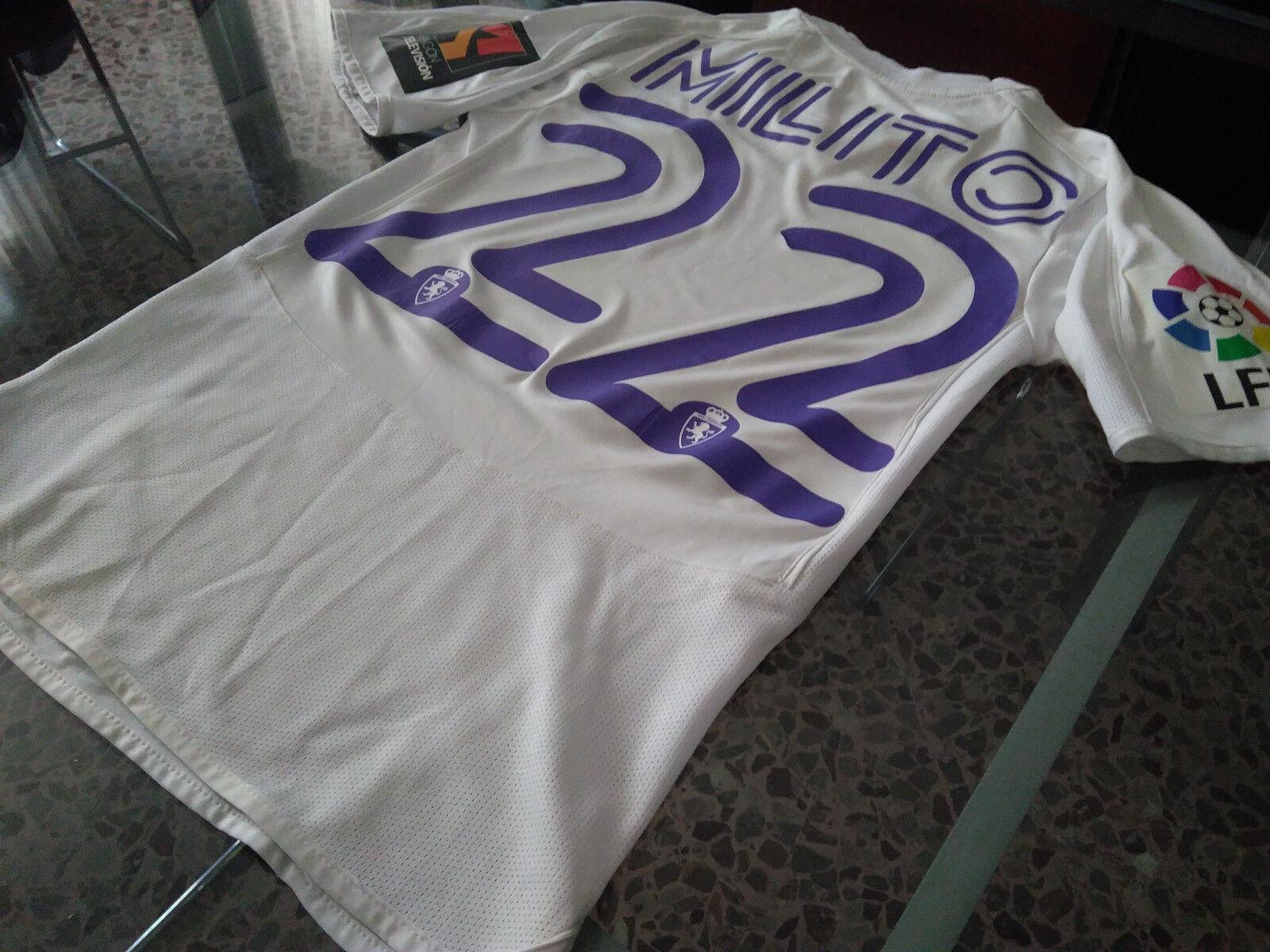Maglia Diego Saragozza Milito  22 Real Saragozza Diego Zaragoza Shirt Trikot Jersey 2007-08 1724fb