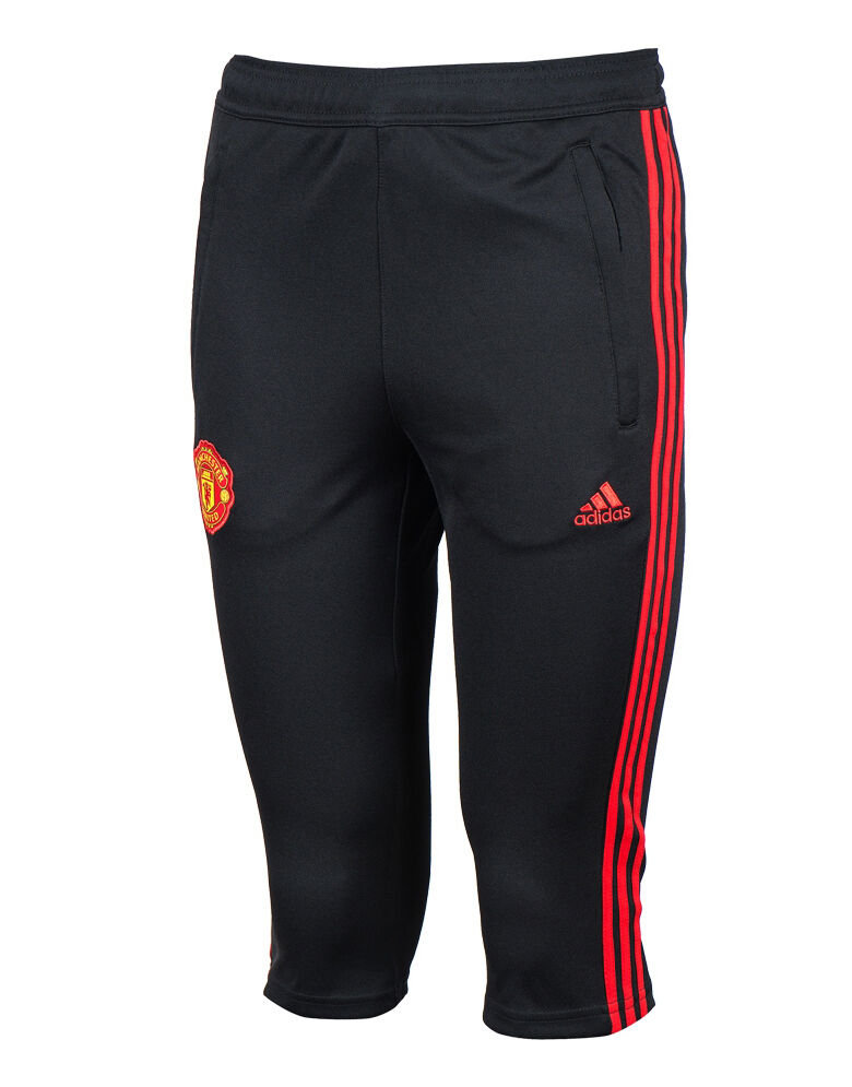Adidas Manchester United 34 Capri Pants Training Soccer Football Pant AP6128