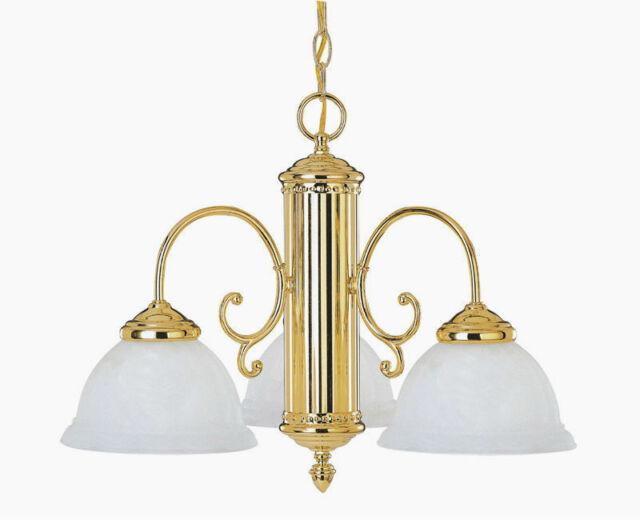 Savoy House Majestic 3 Light Chandelier In Polished Br Renaissance Guild