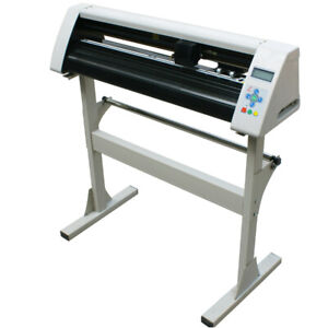 New-USB-24-034-Cutting-Plotter-Vinyl-Sticker-Cutter-Redsail-RS720C-With-Stand
