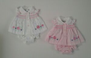 Premature preemie tiny baby girls clothes Spanish style three piece set 3-8 lbs