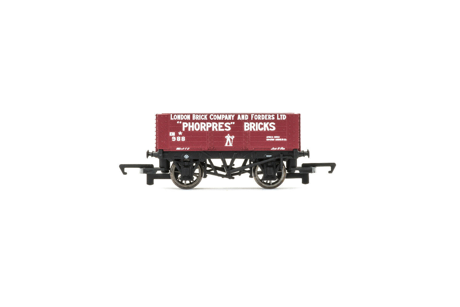 Hornby Hornby Hornby r6754 vagones Plank Wagon London Company Brick nuevo embalaje original  marca de lujo