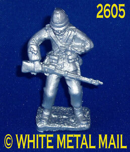 Military Lead Casting LA2605 24th Foot Enlisted Man  Hit in Chest - Hayle, United Kingdom - Military Lead Casting LA2605 24th Foot Enlisted Man  Hit in Chest - Hayle, United Kingdom