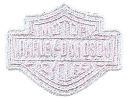 HARLEY DAVIDSON RARE PINK BAR SHIELD PATCH  HARLEY  PATCH