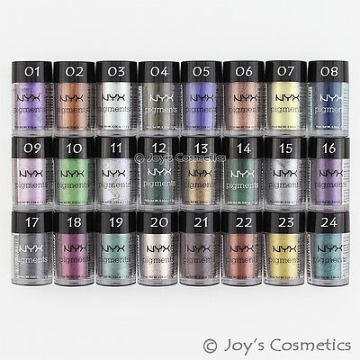 "6 NYX Pigments Eye shadow Powder - PIG ""Pick Your 6 Color""  *Joy's cosmetics*"