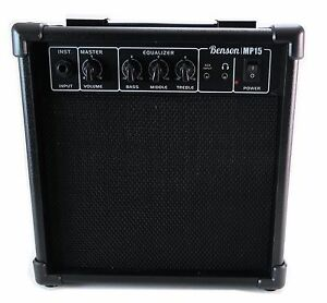 Benson-15w-electric-overdrive-guitar-bass-amp-Electronic-drum-amplifier-practise