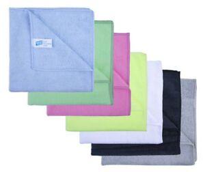 "Dish Cloths Yellow Overlock 20 Dishcloths Environmently friendly reusable 18x10/"""
