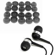 For Universal Earphones Large Replacement Silicone EARBUD Tips Covers 20pcs Fine