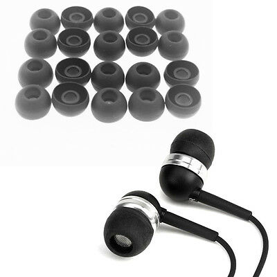 20pcs earbuds replacement silicone earphone tips noise cancelling earbud caps HI