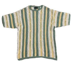 Vintage 90s COOGI darlegen Australien Bill Cosby Pulli Shirt Auth Notorious BIG XL