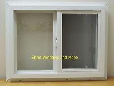 "Double Pane Horizontal 24"" x 18"" Window Vinyl Moble Homes Tiny Houses Playhouses"