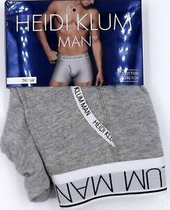 Heidi Klum Man Cotton Classics Mens Trunk K50-120 Grey Marl