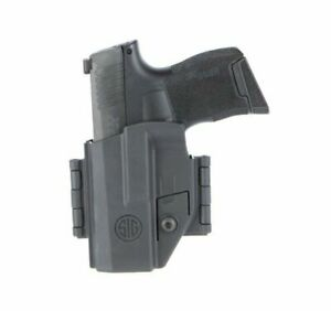 Details about New 2019 Sig Sauer P365 Ambidextrous Holster IWB / OWB Black  HOL-365-AMBI