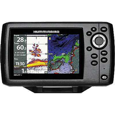 FREE 2 Day Delivery Humminbird HELIX 5 G2 Chirp GPS Fishfinder Comb H@T SELLER