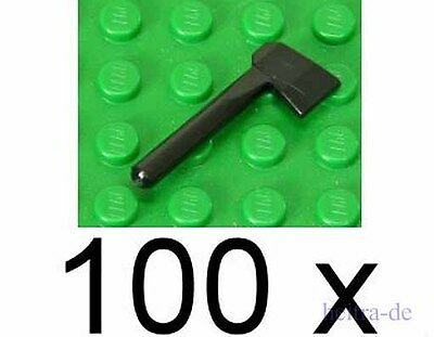 LEGO 10 x Axt Beil Äxte 3835 schwarz