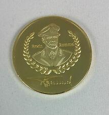 1 oz 999 Medal German Reich Wehrmacht Erwin Rommel Reichsadler Capsule