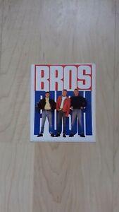 Bros: Sticker Nr. 1 - NEU - Rare