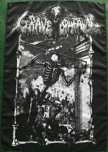 Grave-Upheaval-Reaper-Textile-flag-Portal-Grave-Miasma-Teitanblood-Encoffination