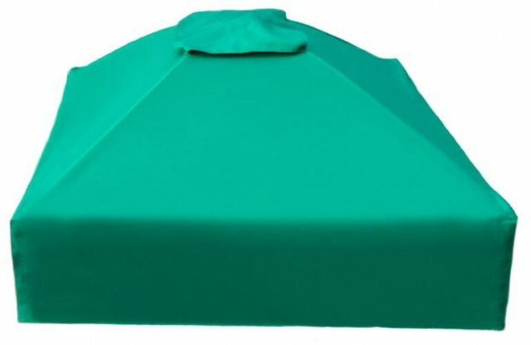 Sandlåda Cover 4 ft. x 4 ft. x 13.5 in.Fyrkantig kollopublicerad vattensäker polyester