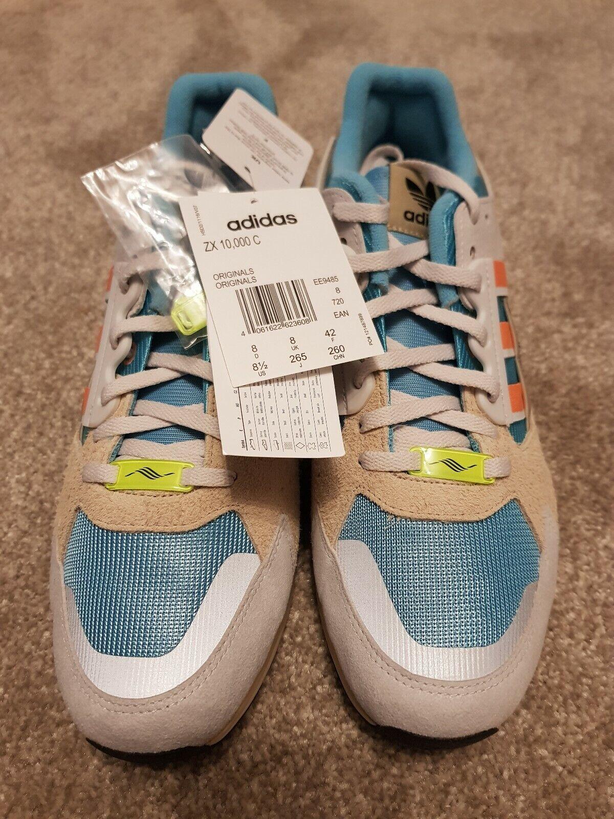 ADIDAS Originals ZX 10000c scarpe da ginnastica Tag Tag Tag Nuovo di zecca con zx10000 97e554
