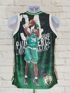 897e48c4d Majestic Paul Pierce 34 Boston Celtics Youth Jersey Size 14 16 Black ...