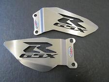 Suzuki GSXR600/750(04-05) Stainless Steel Foot Peg Heel Plates - Beowulf HPSU011