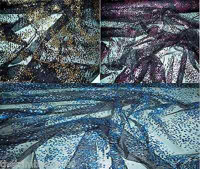 Orleans Twinkle Glitter Dress & Craft Netting Fabric -150 cm Wide £5.99 metre