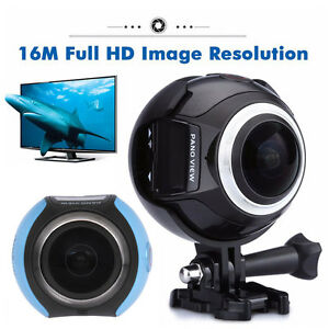 CA-Local-360-4K-Action-Dash-Driving-VR-Camera-HD-1080P-Panoramic-Sport-Cam-32G