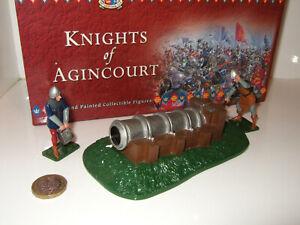 Britains 40396 Knights Of Agincourt, artillerie anglaise du 15ème siècle et 2 équipages.   36881403968