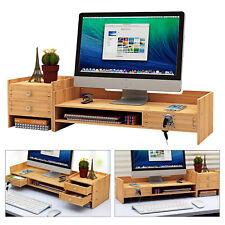 New Office Wood Desk Organizers Withlock File Storage Computer Desktop Tray Diy Us