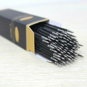 100X-Kugelschreibermine-Ersatz-Blau-Schulbuero-Schreibwaren-O1V4-P2V6