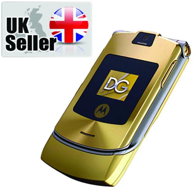 Motorola Razr V3 Lilac Mobile Phone For Sale Ebay