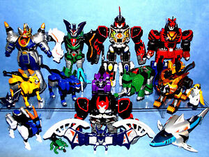 Power rangers jungle fury dx megazord zord collection lost a zord image is loading power rangers jungle fury dx megazord zord collection voltagebd Image collections