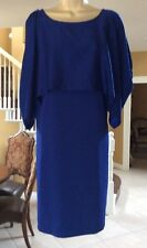 DKNY DRESS,SIZE LARGE,BLUE,NEW WITHOUT TAGS